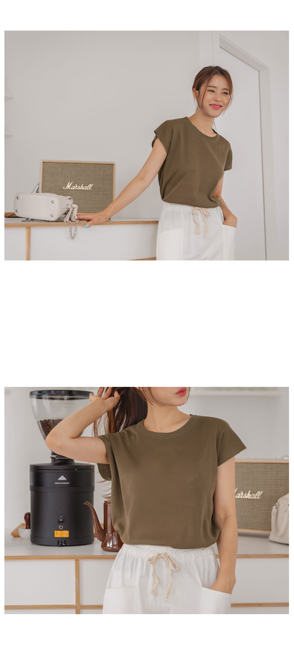 Mary Cap Sleeve Knitwear Sleeveless