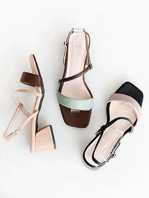 Chewing Slingback Sandals 5cm