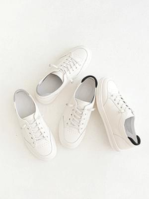 Archives Leather Sneakers 2cm