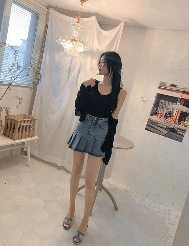 Bonnie pleated skirt pants