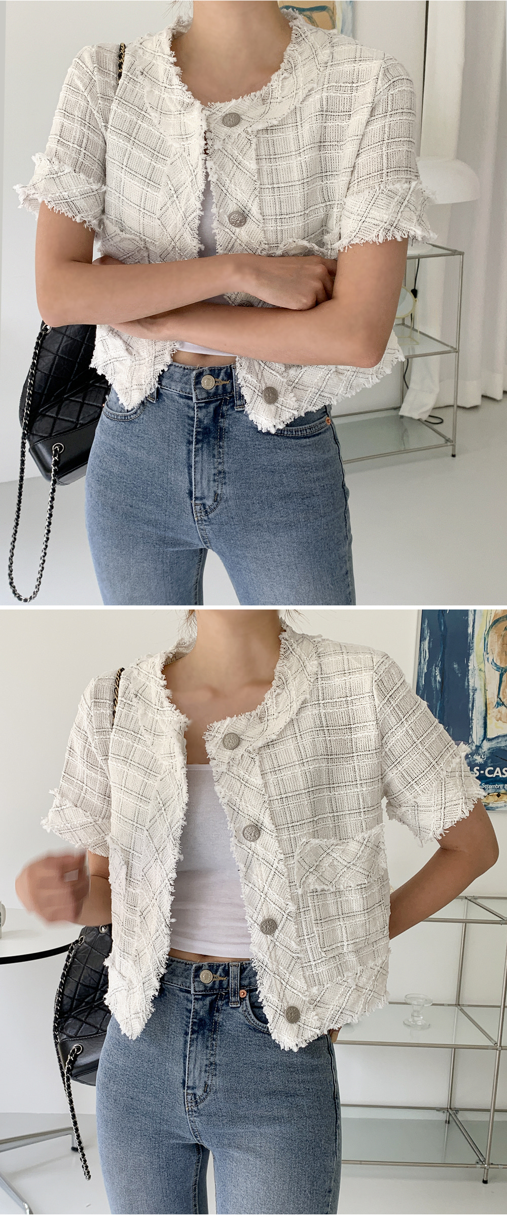 Liz half jacket