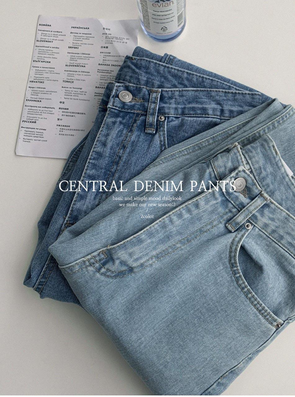 Knits Semiboy Denim Pants