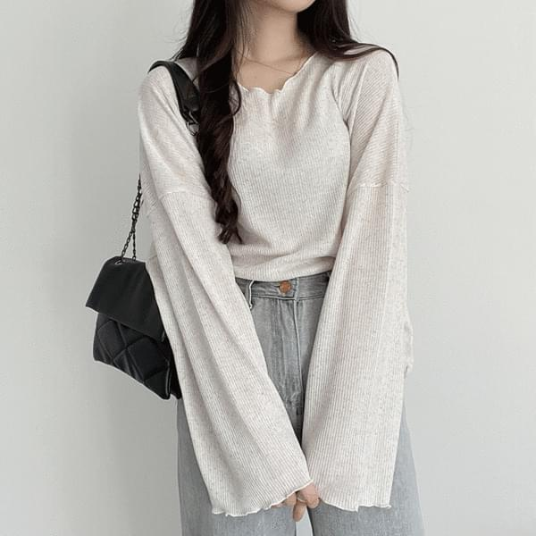 Overfit Ribbed Summer Knitwear