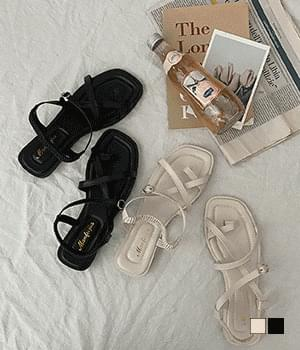 Glory Banding Strap Sandals