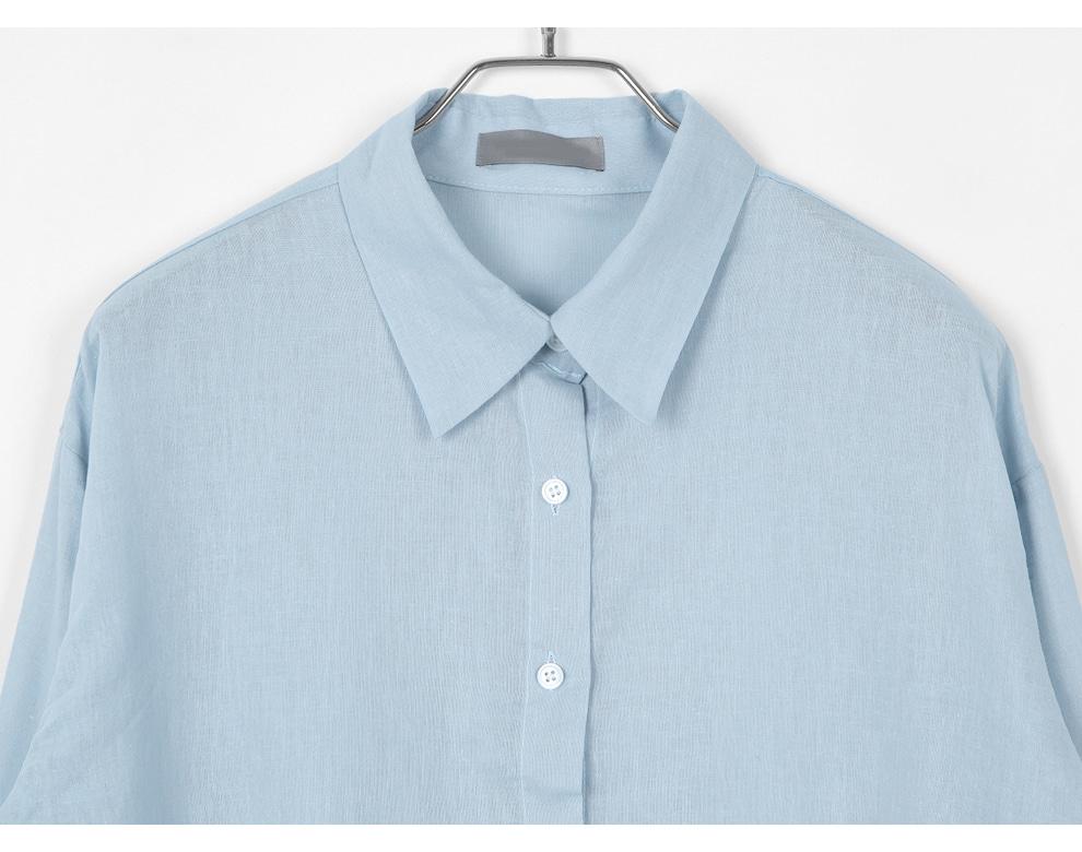Moren Linen Long Sleeve Shirt - 4 color