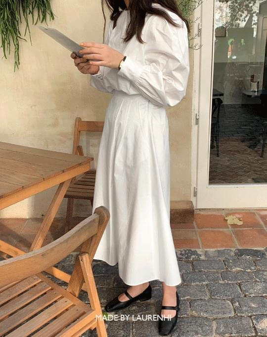 Rosley Round Puff Blouse - 3 color