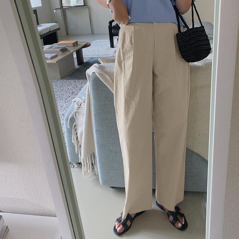 Define Bijo Wide Cotton Pants - 3 color