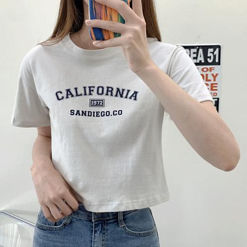Daily 1972 San Diego Short Sleeve T-shirt T#YW800