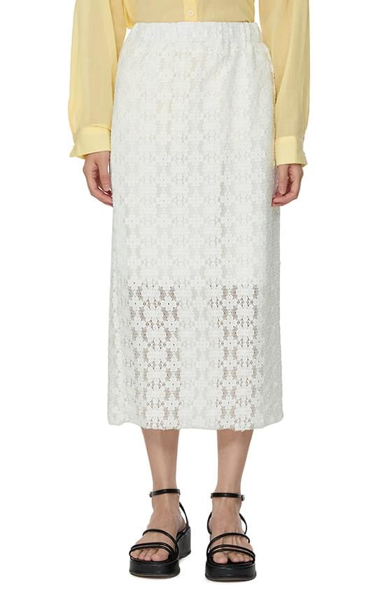 Mary Lace Long Skirt
