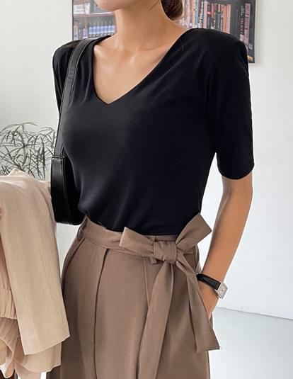 Fay V-Neck short sleeve T-shirt