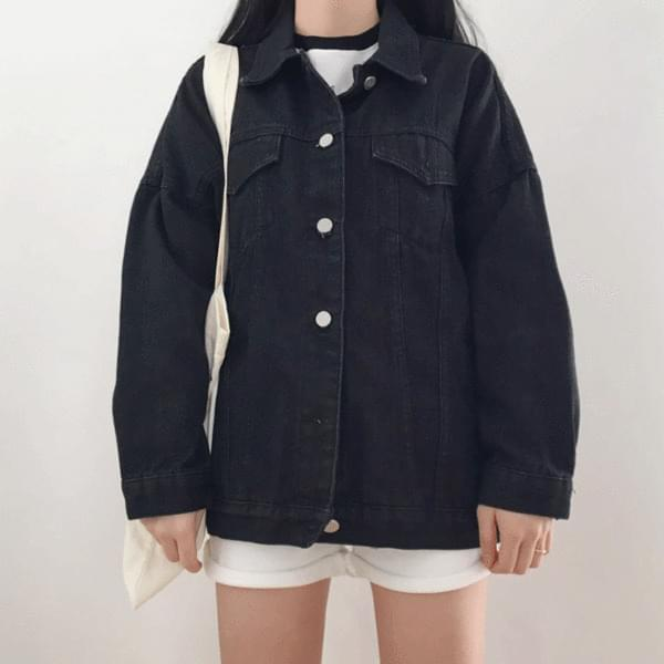 Black Denim denim jacket