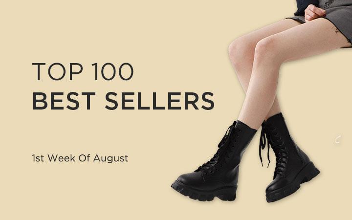 TOP 100 BEST SELLERS - 1st Week Of August