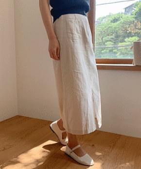 Diocell linen skirt