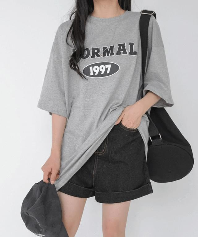 Big Size 55-99 Point Over Fit Short Sleeve Tee