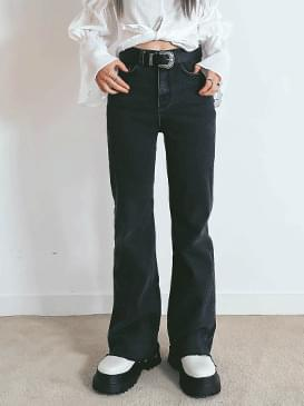 Awesome Flared denim pants