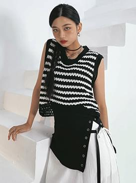Striped Amel Knitwear Vest