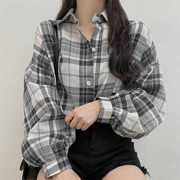 LEE, Casual Overfit Check Shirt