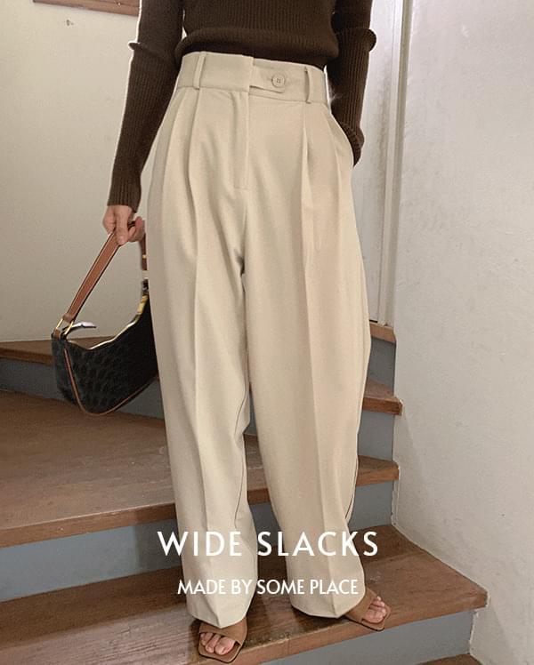 #made some unspoken bijo wide slacks