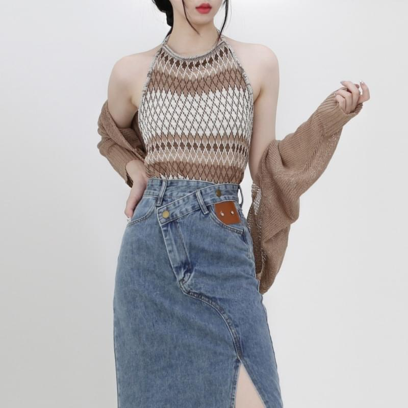 Estelle Sleeveless Bolero Cardigan Set