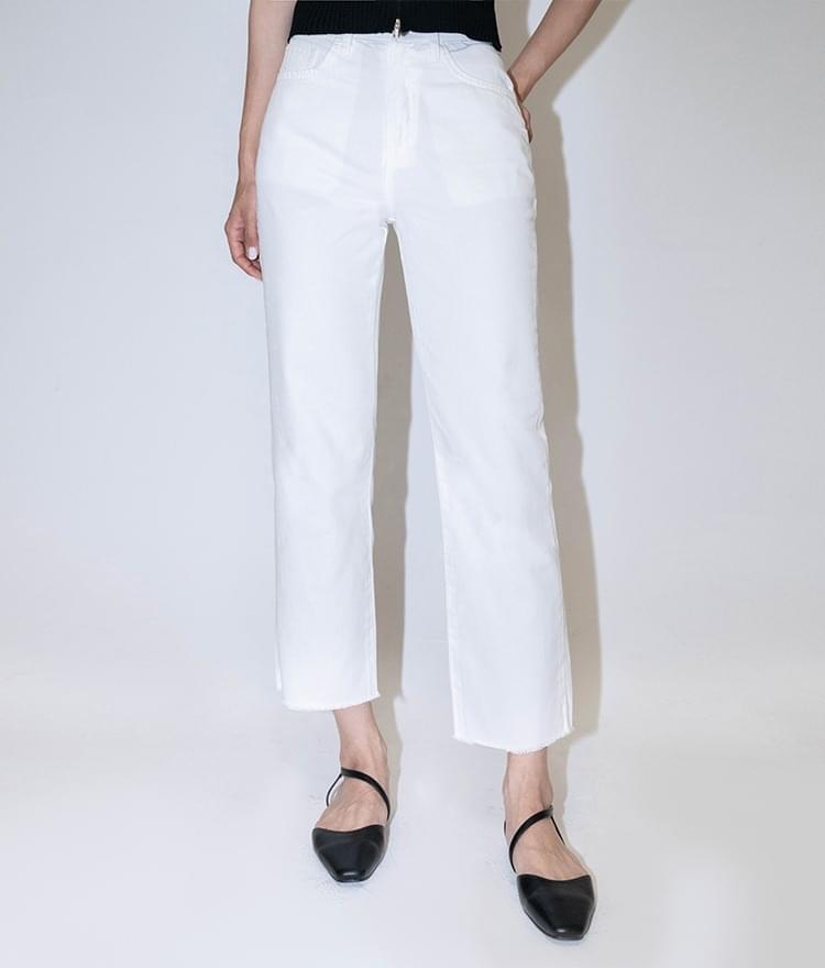slim cut pants
