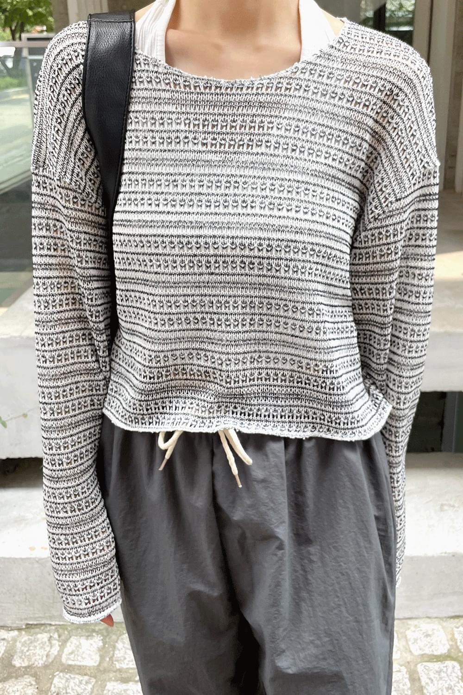 Summer crop Knit