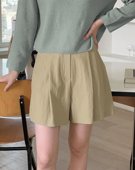 Enne Nylon Part 3 Pintuck Pants - 3 color