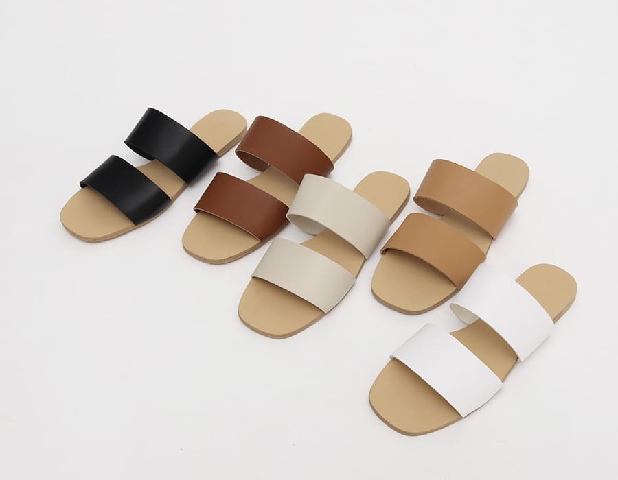 Duo strap slipper_J
