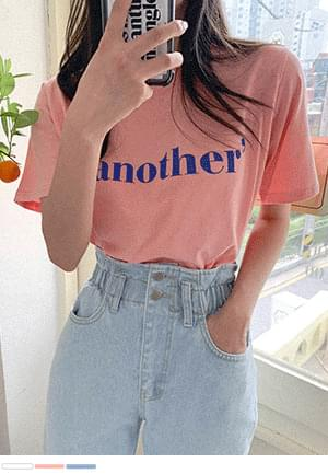 Another Level Lettering Short Sleeve Tee