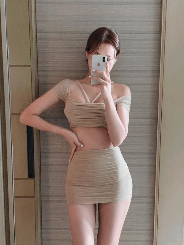 Esther Shirring Bikini