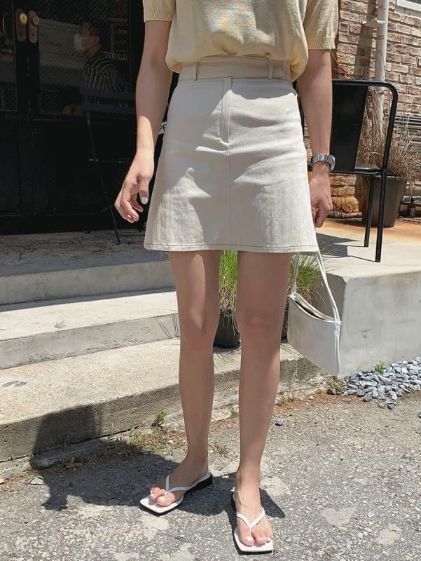 page stitch skirt