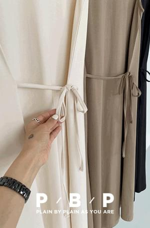 PBP.Side String Spandex Sleeveless Dress