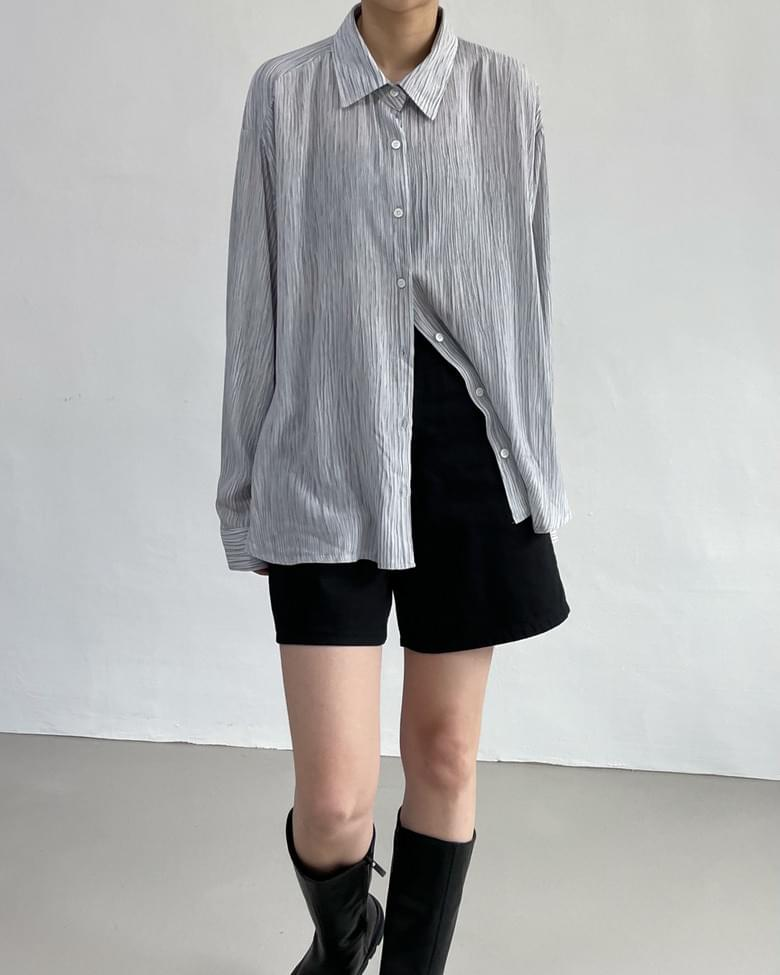 one stripe Loose-fit shirt