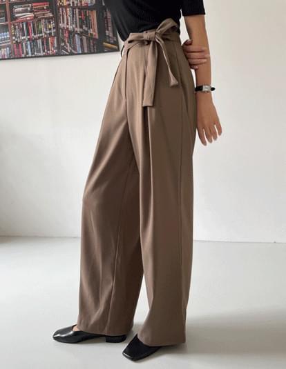 Revo strap wide slacks