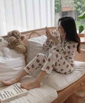 Unriver Bear Pajamas SET