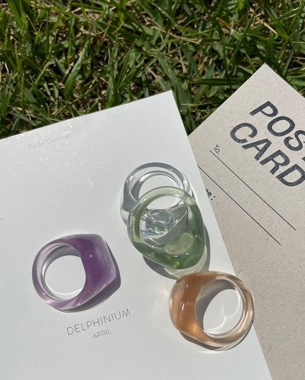 Cutie Multicolor Ring Set