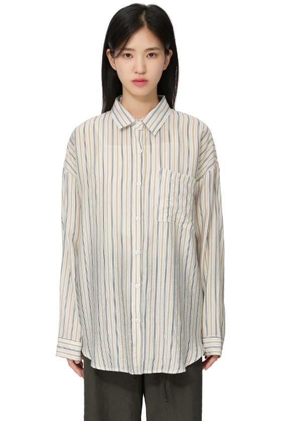 cord striped shirt