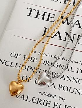 Popping Heart Choker Necklace