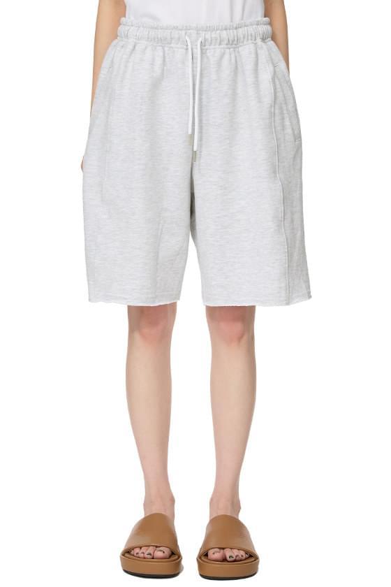 Half Cotton Track Shorts