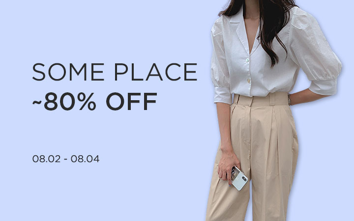 SOMEPLACE ~80% OFF