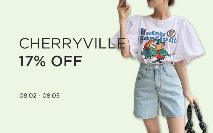 CHERRYVILLE 17% OFF