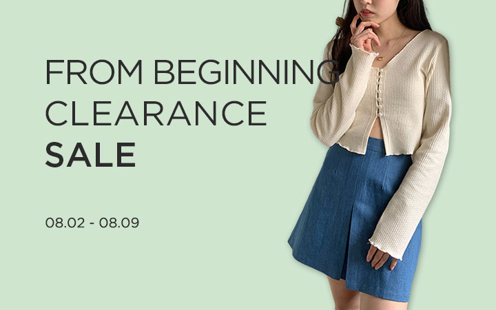 FROM BEGINNING CLEARANCE SALE