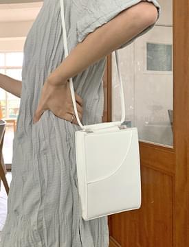 split square shoulder bag
