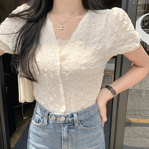 Somerset Wrinkle Short Sleeve Blouse 襯衫