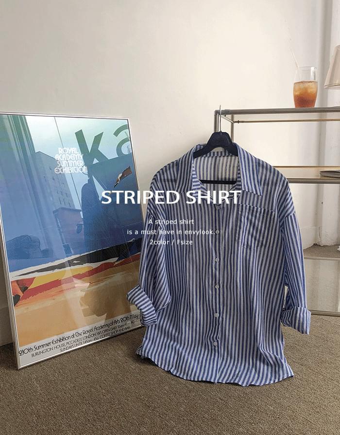Marine Overfit Shirt