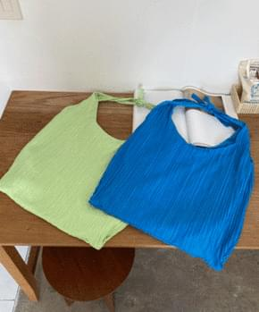 Illu pleated shoulder bag