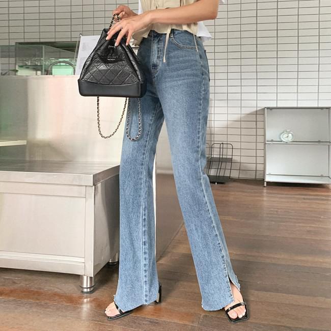 Everything slim Flared denim pants 牛仔褲