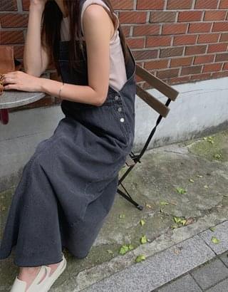 Manson Denim Overall Dress