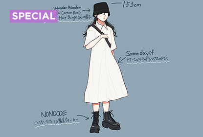 Check out our hot outfits with illustrations.