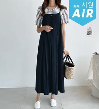 Simple Line String Dress #38040