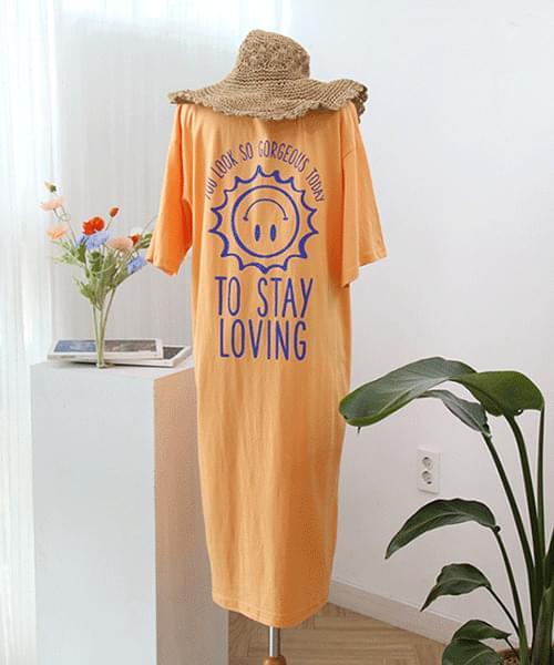 Smile Sun Long Dress